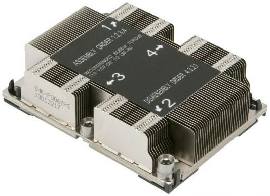 Радиатор SuperMicro SNK-P0067PS цена и фото