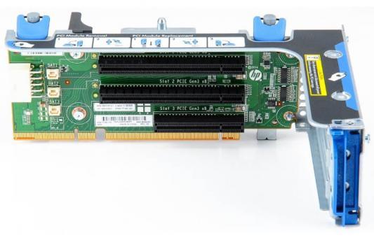 Переходная плата HPE 870548-B21 DL Gen10 x8/x16/x8 Riser Kit переходная плата hpe 867980 b21 dl360 gen10 2p full height gpu enablement kit