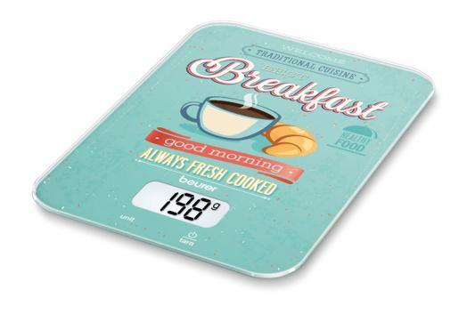 Весы кухонные электронные Beurer KS19 Breakfast макс.вес:5кг рисунок весы кухонные beurer ks25