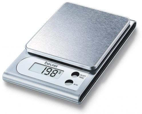 Весы кухонные электронные Beurer KS22 макс.вес:3кг серебристый весы кухонные beurer ks25
