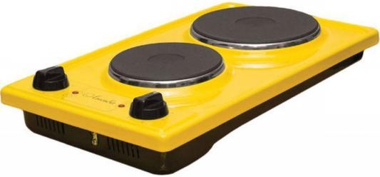 Плита Электрическая Лысьва ЭПБ 22 желтый эмаль (настольная) электрическая плита лысьва эп 301 wh