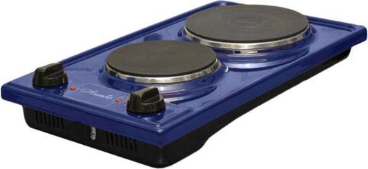 Плита Электрическая Лысьва ЭПБ 22 синий эмаль (настольная) электрическая плита лысьва эп 301 wh