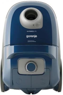 Пылесос Gorenje VC2222GLBU 2200Вт голубой пылесос gorenje vc1615g