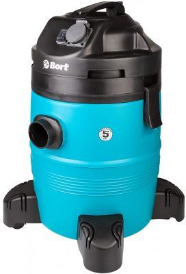 Bort BSS-1335-Pro Пылесос строительный [98297072] { 1400 Вт, вместимость 35 л, 58 л/сек, 8,3 кг, набор аксессуаров 11 шт } цена в Москве и Питере