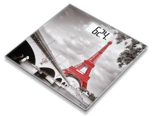 Весы напольные электронные Beurer GS203 Paris макс.150кг рисунок