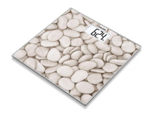 Картинка для Весы напольные электронные Beurer GS203 макс.150кг рисунок/камни