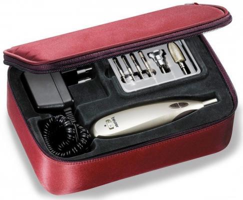 Картинка для Маникюрно-педикюрный набор Beurer MP60 насадок в компл.:9шт золотистый