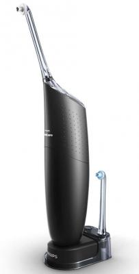 Ирригатор Philips Sonicare AirFloss Ultra HX8432/03 черный 2pcs philips sonicare airfloss hx8012 interdental replacement nozzles