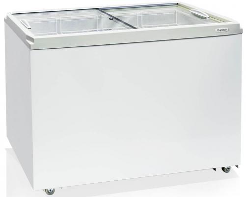 Морозильный ларь Бирюса 355VZQ белый 207Вт морозильный ларь bravo xf 212ja