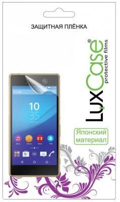 Защитная плёнка антибликовая LuxCase 52020 для iPhone X защитная плёнка для lenovo ideatab s5000 антибликовая luxcase