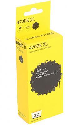 Картридж T2 IC-CPGI-470BK Black (с чипом) для Canon PIXMA MG5740/6840/7740/TS5040/6040/8040/9040 картридж t2 cpgi 450b с чипом