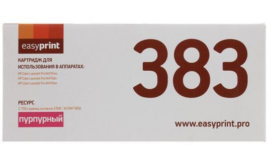 Картридж EasyPrint LH-383 (аналог CF383A) для HP CLJ Pro M476nw/M476dn/M476dw (2700 стр.) пурпурный, с чипом картридж easyprint lh 18a для hp lj pro m104a m104w m132a m132fn m132fw m132nw 1400 стр с чипом cf218a