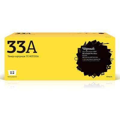 Картридж T2 TC-HCF233A черный (black) 2300 стр. для HP LJ Ultra M106/M134a/M134fn в а никеров физика учебник и сборник задач