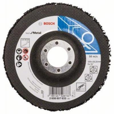 Bosch 2608607633 1 ЗАЧИСТНОЙ КРУГ 125мм B.f.Metal