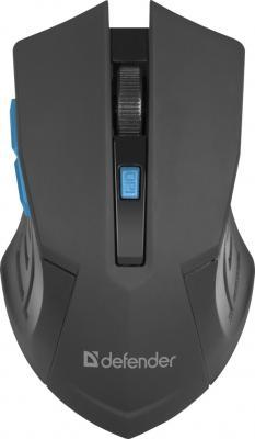 Мышь беспроводная Defender Accura MM-275 черно-синий USB