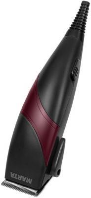 Машинка для стрижки волос Marta MT-2215 коричневый оникс машинка для стрижки волос marta mt 2216 бордовый гранат