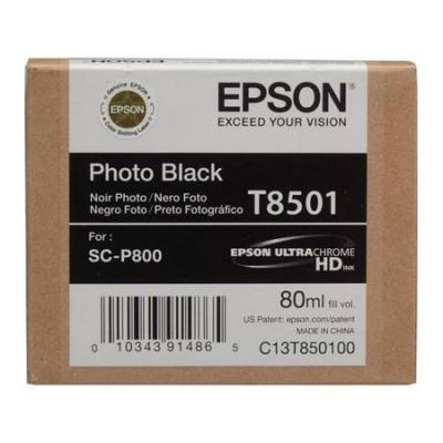 Картридж EPSON T8501 черный фото для SC-P800 картридж epson t009402 для epson st photo 900 1270 1290 color 2 pack