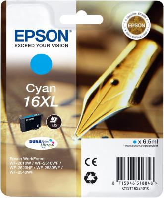 Картридж EPSON 16 голубой для WF-2010/WF-2510/WF-2540 f190000 printhead for epson wf 7015 wf 7510 wf 7050 wf 3520 wf 7010 printer head for epson f190000