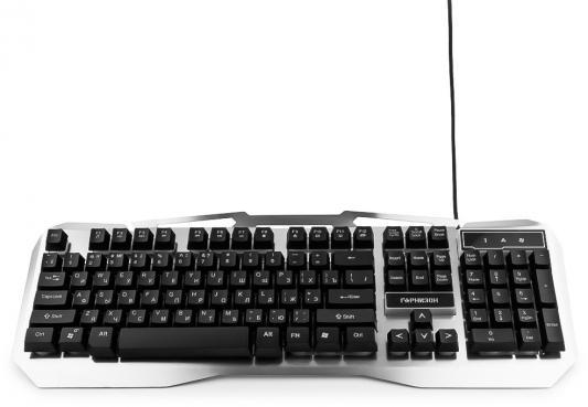 Клавиатура проводная Гарнизон GK-500G USB черный италия barilla 500g 10