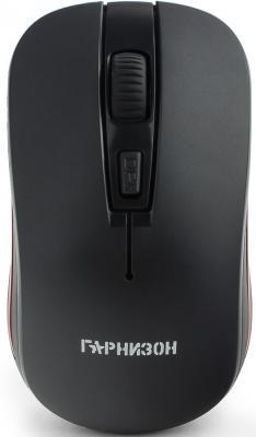 Гарнизон Мышь беспров. GMW-420, чип X2, черный, 1600 DPI, 3 кн.+ колесо-кнопка, блистер цена и фото