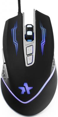 Мышь проводная Гарнизон GM-730G чёрный USB