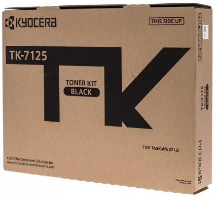 Тонер-картридж TK-7125 20 000 стр. для TASKalfa 3212i тонер картридж kyocera mita tk 1140