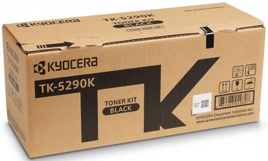 Тонер-картридж TK-5290K 17 000 стр. Black для P7240cdn тонер картридж kyocera mita tk 3100
