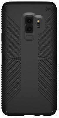 Чехол Speck Presidio Grip для Samsung Galaxy S9+. Материал пластик. Цвет: черный/черный. presidio