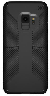 Чехол Speck Presidio Grip для Samsung Galaxy S9. Материал пластик. Цвет: черный/черный. аксессуар чехол macbook pro 13 speck seethru pink spk a2729