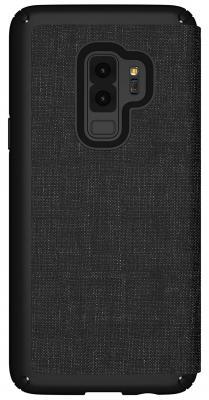 Чехол-книжка Speck Presidio Folio для Samsung Galaxy S9+. Материал пластик/полиуретан. Цвет: черный/серый. аксессуар чехол macbook pro 13 speck seethru pink spk a2729
