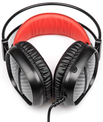 Игровая гарнитура проводная Dialog HGK-20L Gan-Kata черный красный hgk 15