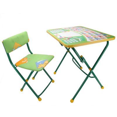 Комплект стол+стул Ника Первоклашка (зеленый) микроскоп velvi первоклашка 70 800x