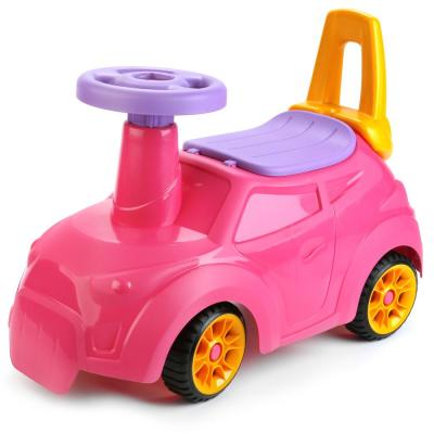 Каталка-беговел Нордпласт Крутышка розовый 431004-1 каталка детская нордпласт нордпласт детский мотоцикл каталка мото gо