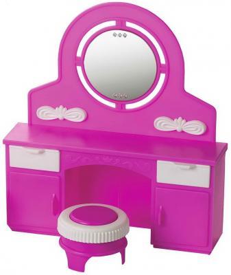 Игровой набор Огонек Трюмо с пуфом Зефир росигрушка игровой набор розовый зефир