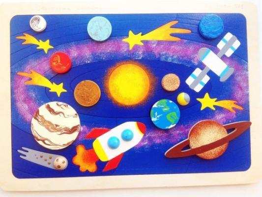 Купить Мозаика-вкладыш Солнечная система, 31 деталь, Крона