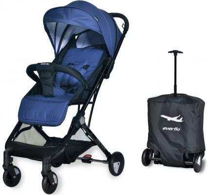 Фото - Коляска прогулочная Everflo Baby Travel E-330 (jeans) коляска прогулочная everflo baby travel e 330 red