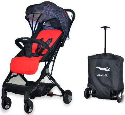 Фото - Коляска прогулочная Everflo Baby Travel E-330 (red) коляска прогулочная everflo safari grey e 230 luxe