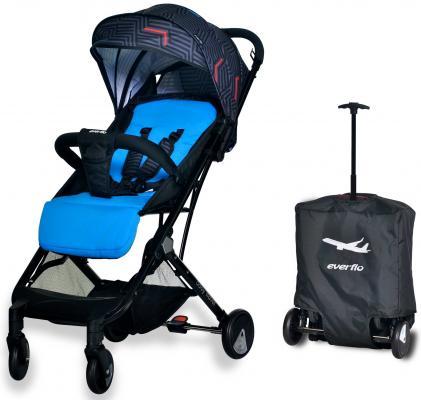 Коляска прогулочная Everflo Baby Travel E-330 (blue) коляска прогулочная everflo сruise e 550 deep blue