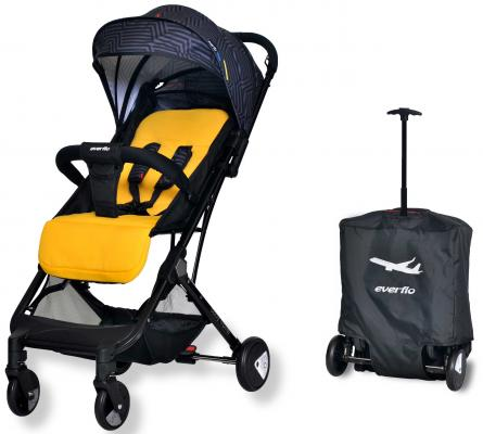 Фото - Коляска прогулочная Everflo Baby Travel E-330 (yellow) коляска прогулочная everflo safari grey e 230 luxe