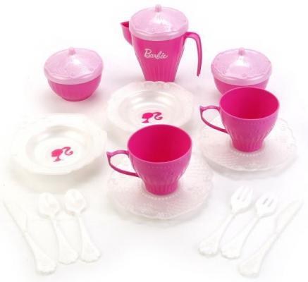 Набор чайной посудки Нордпласт Барби пластик цена