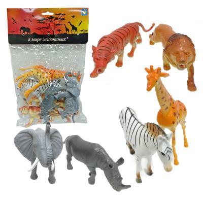 Купить Набор фигурок 1Toy В мире животных 15 см, Детские фигурки