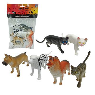 Купить Набор фигурок 1Toy В мире животных - Собаки и Кошки 15 см, Детские фигурки