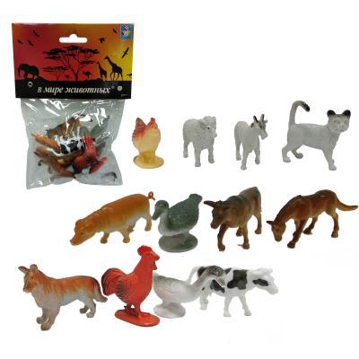 Купить Набор фигурок 1Toy В мире животных 5 см, Детские фигурки