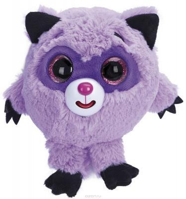Мягкая игрушка енот 1toy Дразнюка-Zooка енот искусственный мех наполнитель пластик металл текстиль фиолетовый 13 см цена