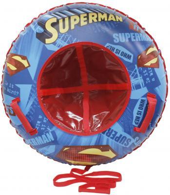 Тюбинг 1toy &quot,Супермен&quot, до 100 кг разноцветный ПВХ