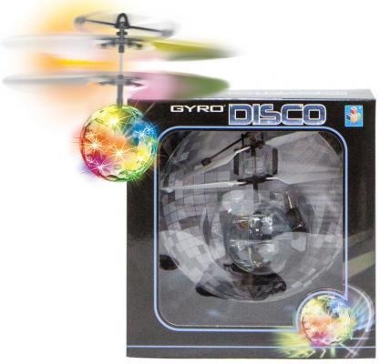 Интерактивная игрушка 1toy Gyro-Disco от 5 лет Т10794 игрушка 1toy gyro flex вертолет с гироскопом т57269
