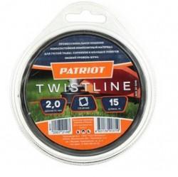 Леска Patriot Twistline D 2,0 мм L 15 м леска twistline d 2 0 мм l 15 м скрученный квадрат блистер пр во россия 805205016