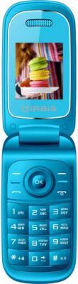 Мобильный телефон IRBIS SF15 1.77/128x160/cam 0.08MPx/2xSimCard/Bluetooth/microUSB/MicroSD/Голубой