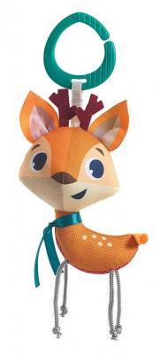 Купить Интерактивная игрушка Tiny Love Оленёнок с рождения, разноцветный, текстиль, унисекс, Игрушки-подвески
