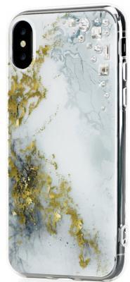 Накладка Bling My Thing Edge: Alabaster для iPhone X разноцветный ipx-ed-wh-cry butterfly bling diamond case